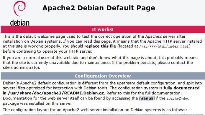 安装Apache以及验证是否成功