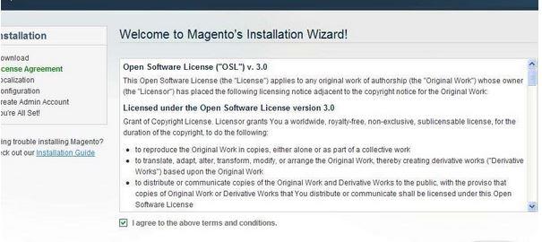 BlueHost虚拟主机安装Magento