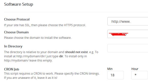 设置目录和域名