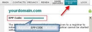 BlueHost虚拟主机上如何查看域名EPP CODE