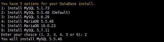 设置MYSQL版本